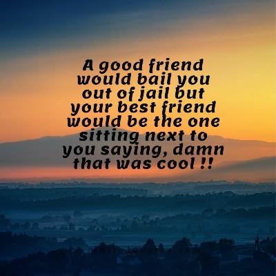 A cool friendship